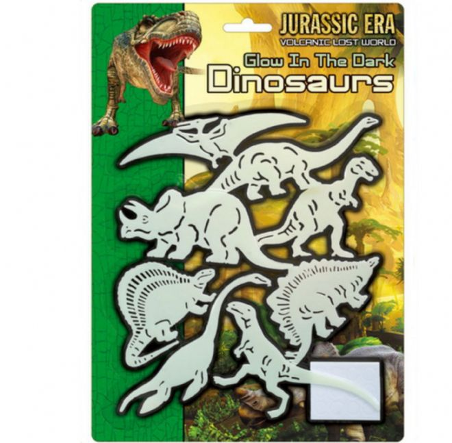 Large Jurassic Glow in the Dark Dinosaurs Ceiling Childs Kids